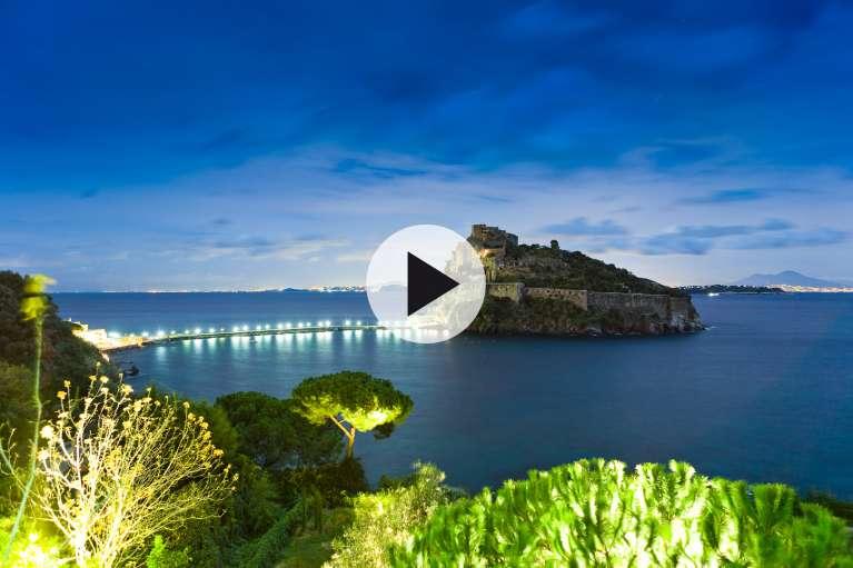 Le Château Aragonais vidéo